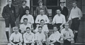Corinthian FC squad that toured around North America in 1906