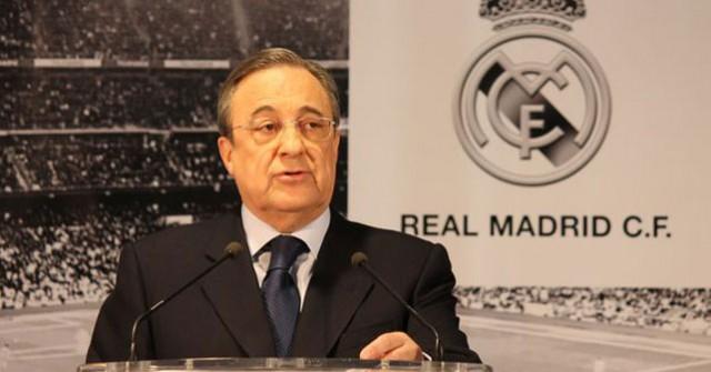 Florentino Perez, Real Madrid president