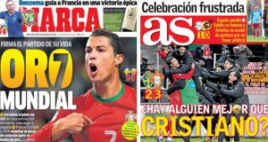 Madrid press report 20-11-13