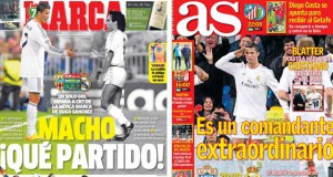 Real Madrid press report 23-11-13