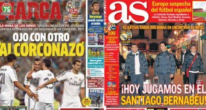 Real Madrid press report 18-12-13