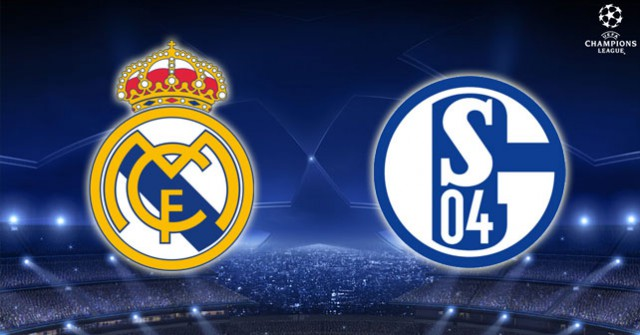 Real Madrid Schalke 04 Champions League draw