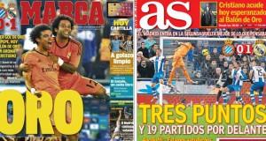 Madrid press report 13-1-14