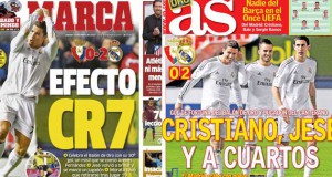 Real Madrid press news 16.1.14
