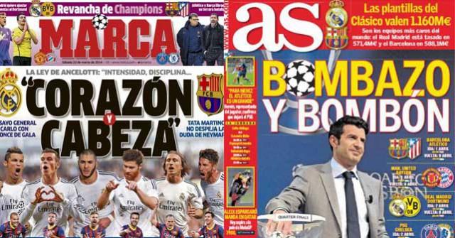 Madrid press report