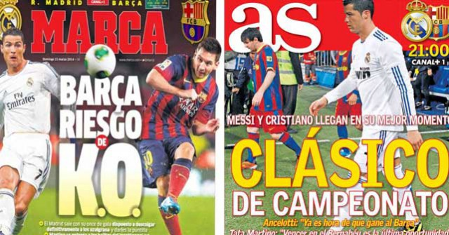 Clasico Madrid press report