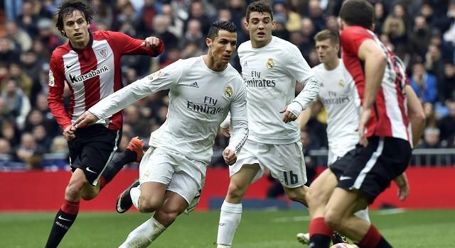 Ronaldo and Kovacic vs Athletic