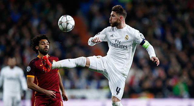Sergio Ramos vs Roma GI