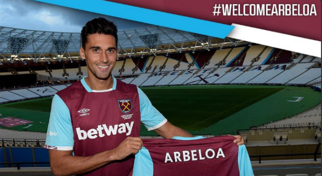 Alvaro Arbeloa completes move to West Ham on free transfer