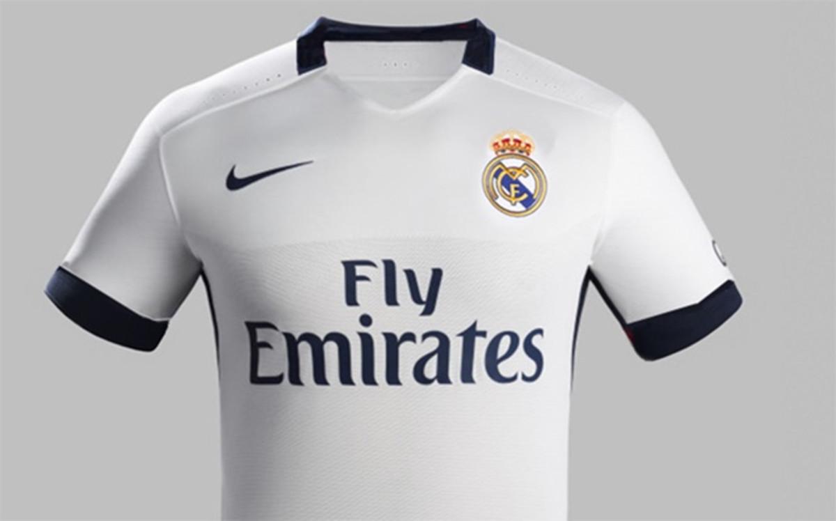 real madrid jersey sponsor