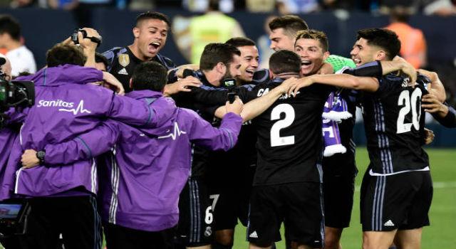 2 Real Madrid 2017 La Liga: Match Report Málaga 0-2 Real Madrid: Los Blancos La Liga