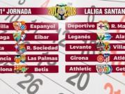 La Liga calendar
