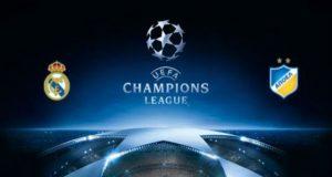 Real Madrid v APOEL RMN