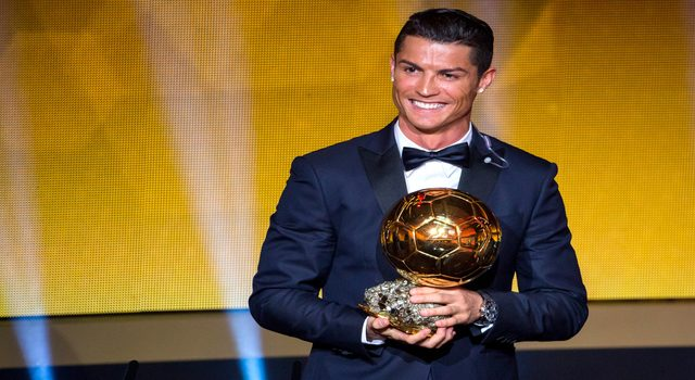 Cristiano Ronaldo Wins His Fifth Ballon d'Or
