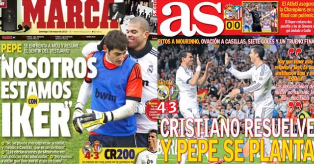 Madrid press 05-05-2013