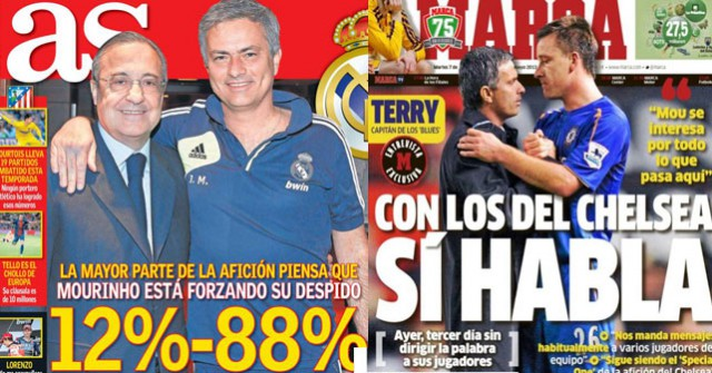 Marca As Front pages 07 May 2013