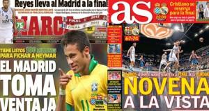 Marca says Neymar to Madrid