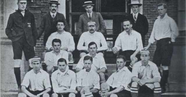 Corinthian FC squad that toured around North America in 1906