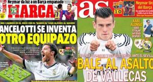 Madrid press report 2nd November 2013