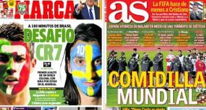 Real Madrid press report 15-11-13