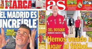 Real Madrid press report 16-11-13