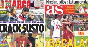 Real Madrid press report 17-11-13