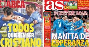 Real Madrid press report 24-11-13