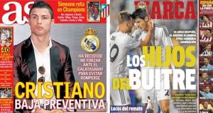 Real Madrid press report 25-11-13