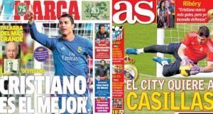 Real Madrid press report 26-11-13