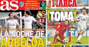 Real Madrid press report 28-11-13