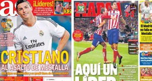 Marca and As front pages 22-12-13
