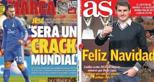 Real Madrid press report 24-12-2013