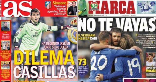 Real Madrid press report 27-12-2013