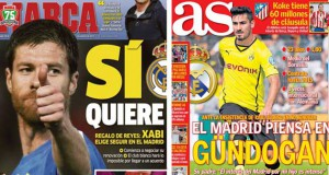 Madrid press report 28-12-2013
