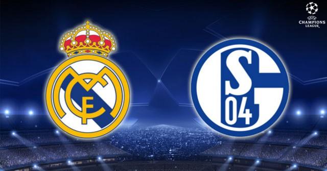 Real Madrid Schalke 04 Champions League draw