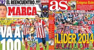 Madrid press report 05-01-14