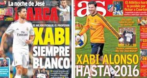 Madrid press report 9-1-14