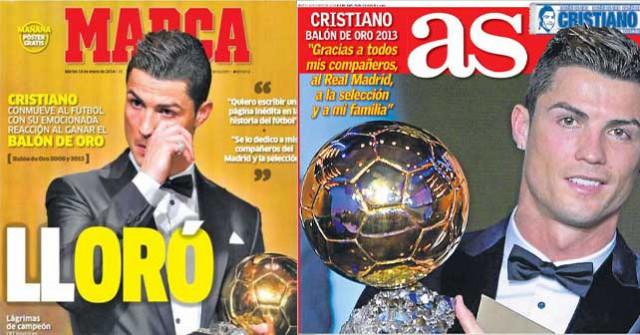 Real Madrid press report 14-1-14