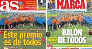 Real Madrid press report 15-01-2014