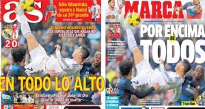 Real Madrid press report 26-01-2014