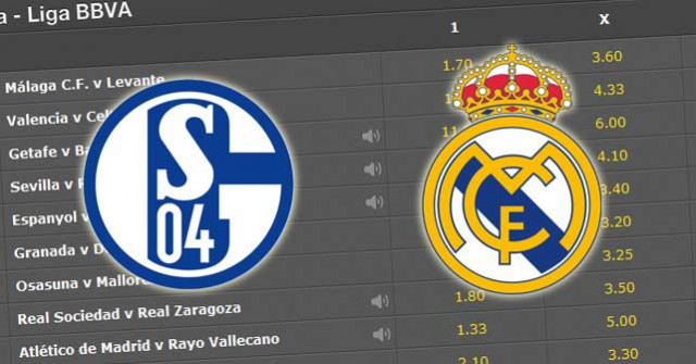 Schalke 04 Real Madrid betting preview