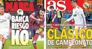 Clasico Madrid press report
