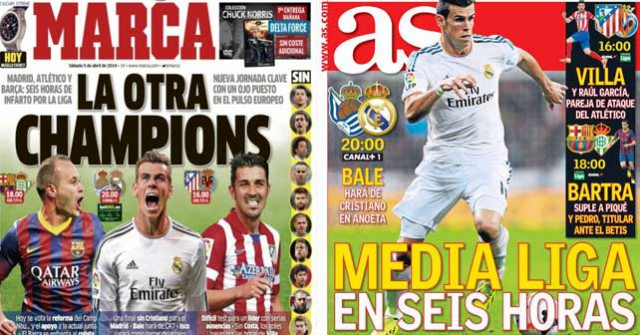 Real Madrid press report