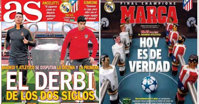 Madrid press report 24-05-2014