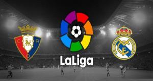 Osasuna v Real Madrid