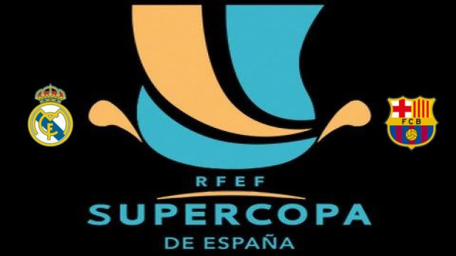 Real Madrid v Barcelona Supercopa España
